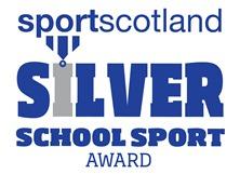 Silver school Sports Award Icon